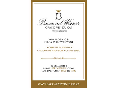 Baccarat Wines