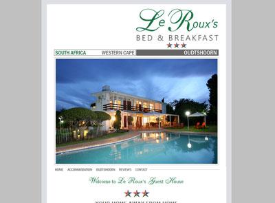 Le Roux's Guest House