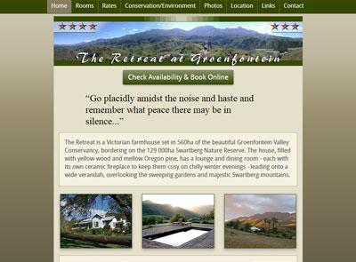 Retreat at Groenfontein